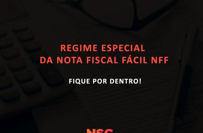 Regime Especial da Nota Fiscal Fácil- NFF
